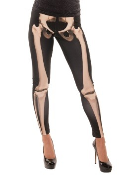 Skeleton Adult Leggings