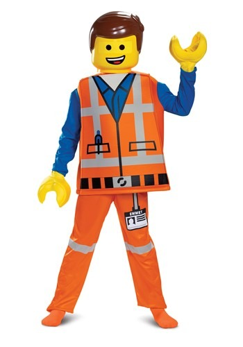 Boy's LEGO Movie 2 Emmet Deluxe Costume