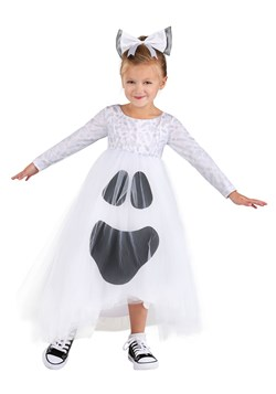 Toddler Ghost Tutu Costume