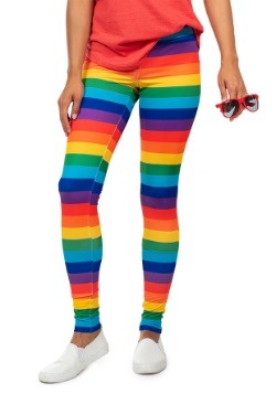 Tipsy Elves Women's Rainbow Leggings