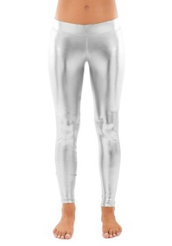 Tipsy Elves Women's Silver Leggings