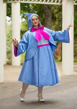 Adult Plus Size Fairy Godmother Costume