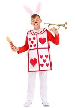 Child's Royal White Rabbit Costume