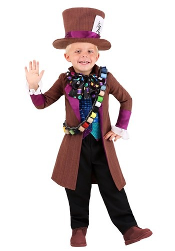 Toddler's Wacky Mad Hatter Costume
