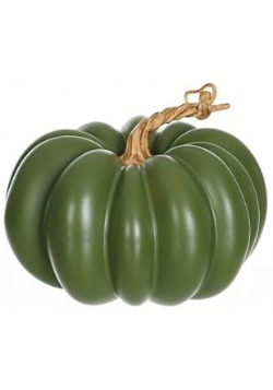 5'' Green Pumpkin Decoration