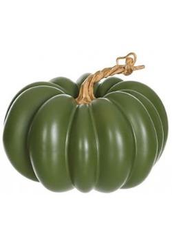 5'' Green Pumpkin Decoration