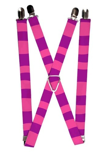 "Alice in Wonderland Cheshire Cat 1"" Suspenders"