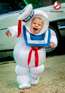 Infant Stay Puft Costume Ghostbusters