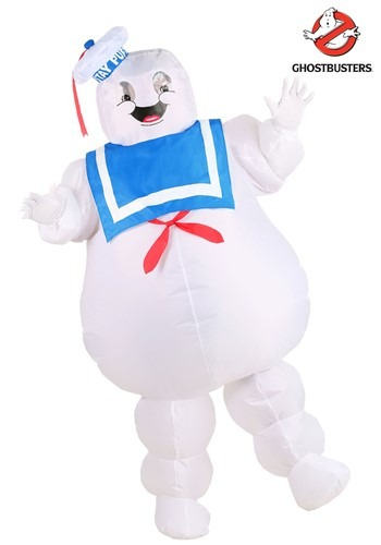 Adult Inflatable Ghostbusters Stay Puft Costume