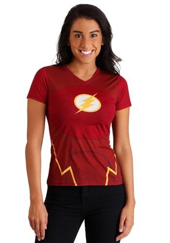 DC Comics The Flash Women's Character Costume T-Shirt