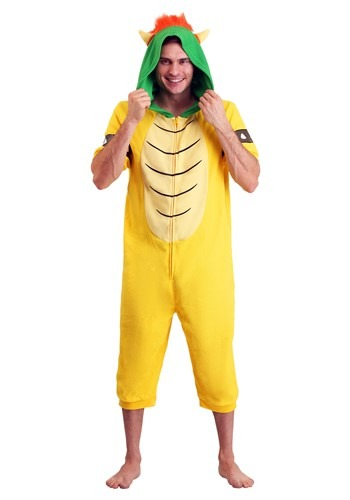 Adult Bowser Cosplay Romper
