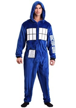 Doctor Who Adult Tardis Union Suit