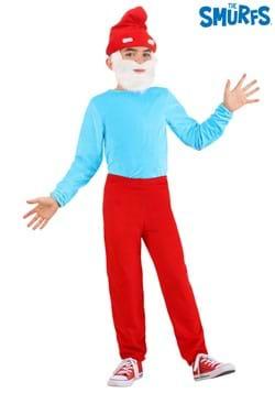 The Smurfs Child Papa Smurf Costume 1