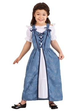 Toddler Renaissance Villager Costume