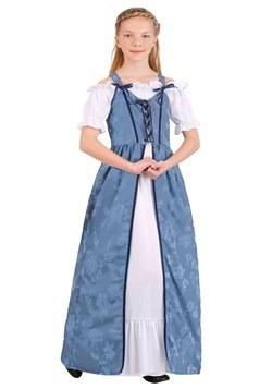 Girl's Renaissance Villager Costume
