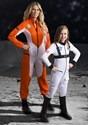 White Astronaut Costume Girl's