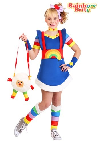 Rainbow Brite Costume for Girl's