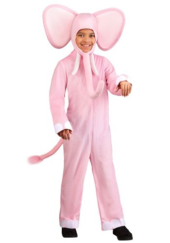 Kid's Pink Elephant Costume