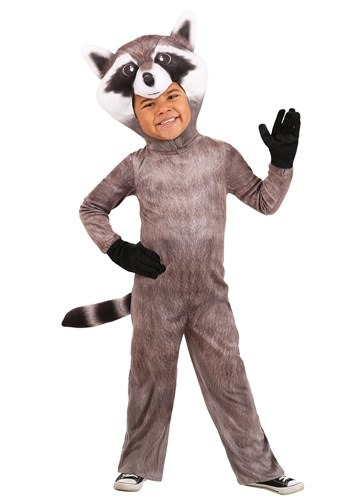 Realistic Toddler Raccoon Costume