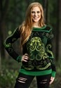 Adult Rage of Cthulhu Ugly Halloween Sweater alt1