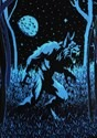 Prowling Werewolf Ugly Halloween Adult Sweater alt4
