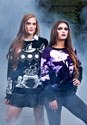 Witch's Moonlight Ride Ugly Halloween Sweater alt1