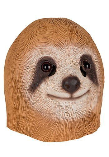Adult Brown Sloth Mask