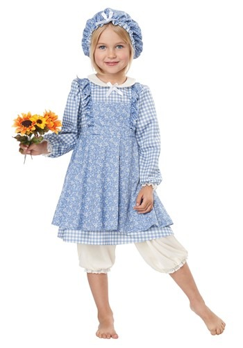 Toddler Little Pioneer Girl Costume