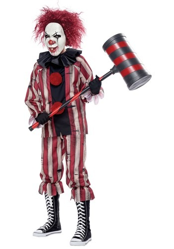 Boy's Nightmare Clown Costume