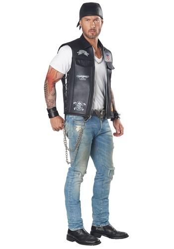 Adult Biker Vest Costume