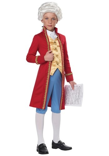 Child Classical Composer Costume