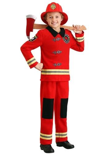 Kid's Friendly Firefighter Costume