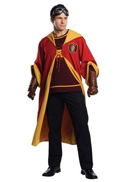 Harry Potter Adult Gryffindor Quidditch Costume
