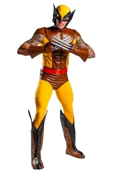 X-Men Adult Wolverine Brown Costume