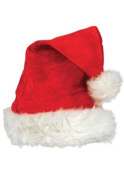 Deluxe Red Velvet Santa Hat