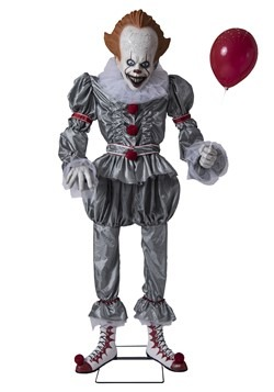 IT Lifesize Animated Pennywise Prop