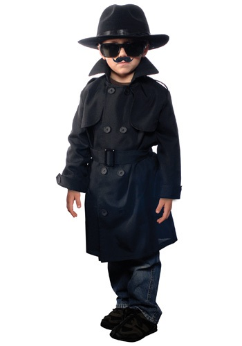 Child Secret Agent Costume