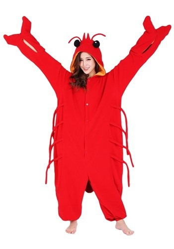 Adult's Lobster Kigurumi Costume
