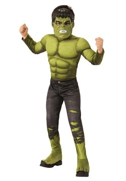 Deluxe Avengers Endgame Boys Incredible Hulk Costume