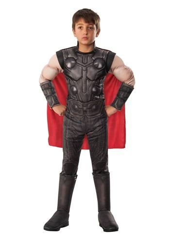 Avengers Endgame Boys Thor Deluxe Costume