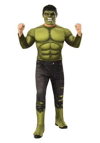 Avengers Endgame Adult Incredible Hulk Deluxe Cost