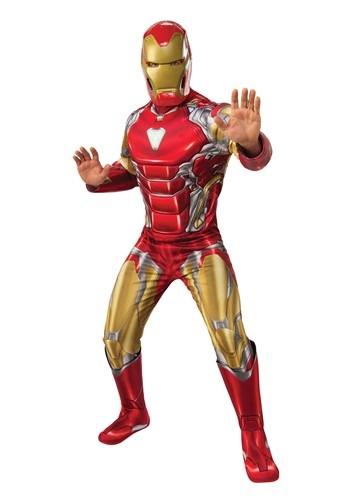 Deluxe Avengers Endgame Iron Man Men's Costume