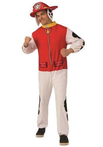 Paw Patrol Adult Marshall Jumpsuit