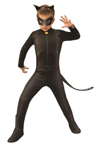 Miraculous Ladybug Child Cat Noir Costume