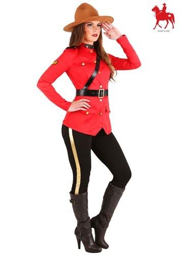 Women's Canadian Mountie Costume