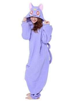 Sailor Moon Adult Luna Kigurumi