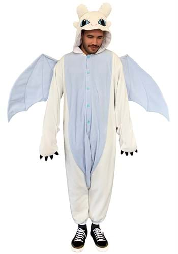 How to Train Your Dragon Adult Light Fury Kigurumi