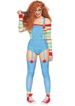 Womens Killer Doll Costume