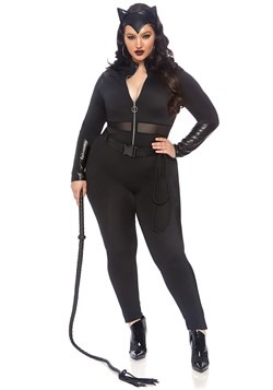 Womens Plus Sultry Supervillian Costume