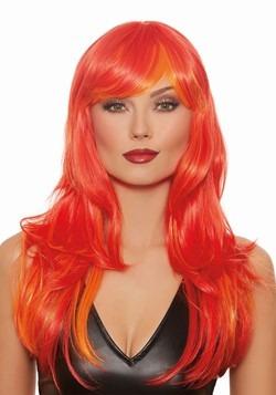 Deluxe Orange Wig